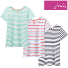 Joules Nessa Ladies Jersey T-Shirt (Y) **FREE UK Shipping**