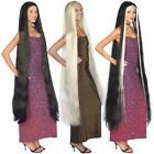 "Внешний вид - 60"" Extra Long Costume Wig Adult Lady Godiva Rapunzel Witch Vampire Fancy Dress"
