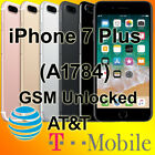 Unlocked Apple iPhone 7 Plus 32GB Silver/Gold A1784 GSM AT&T H2O Simple/T-Mobile