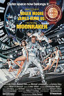 NEW JAMES BOND MOONRAKER 1979 70s RETRO FILM MOVIE CINEMA PRINT PREMIUM POSTER $19.95 AUD on eBay