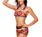 Women's 3 Pieces Athletic Swimwear Sports Swimsuit Set Boysh