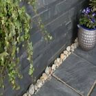 Blue black Slate wall cladding Garden patio internal / external