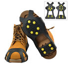 Footwear Crampons Spikes Ice Traction Anti Slip Snow Claws Non Slip Hiking Cover