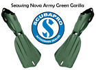 Scubapro Seawing Nova Army Green Gorilla  * Limited Edition ~ Free Shipping