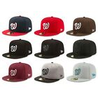 Washington Nationals WAS MLB Authentic New Era 59FIFTY Fitted Cap - 5950 Hat on Ebay