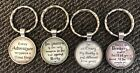 Keychains gift mothers day silver tone fun #10