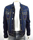True Religion $389 Men's Jimmy Murky Tide Super T Denim Jacket - 100164