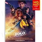 Solo A Star Wars Story Movie Poster New Imax | A5 A4 A3 £7.99 GBP on eBay
