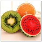 40CM Funny Creative Lovely Special Soft Round 3D Fruit Pillow Plush Cushion Toys