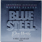 Dean Markley 2678A Blue Steel NPS Cryogenic Activated Bass Guitar Strings - Ligh