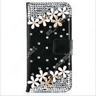 Elegant Wallet Stand Case Diamond PU Leather Cover Shell For ZTE Mobile Phone