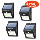 20LED Solar Power Wall Light PIR Motion Sensor Outdoor Landscape Court Yard Lamp
