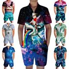 one piece jumpsuit for men - Mens One Piece Zip Up Rompers Short Sleeve Street Casual Pants Jumpsuit Overalls
