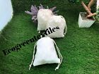 8x10 inches Double Drawstring Cotton Muslin Bags  Nice QUALITY Choose Quantities