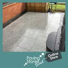 Premium Silver Grey Granite Paving Flags Slabs paver patio path garden CLEARANCE