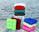 Cotton Kitchen Chair Cushions Chunky Dining Seat Pads For Kitchen Garden Chairs