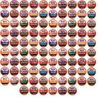96 Count K cups Variety Pack, No Decaf, for Keurig Pods, Beantown Roasters