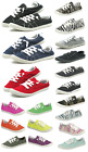 Внешний вид - New Womens Lace Up Canvas Shoes Casual Comfy Slip-On Sneakers Size 5-11