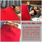ALL SIZE: WEIGHTED BLANKET ALTERNATIVE: COMPRESSION/ SENSORY LYCRA BED SHEET,