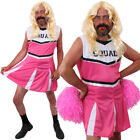 FUNNY STAG DO COSTUME MENS CHEERLEADER  OUTFIT NOVELTY DRESS CHEER UNIFORM