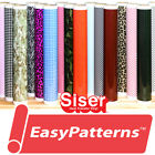 """Siser EasyPatterns  HTV Heat Transfer Vinyl for T-Shirts 18"""" by Foot/Yard Roll"""