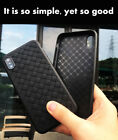IPhone X 8 7 Plus  Weave pattern  Slim Soft Case Cover Shockproof for Apple
