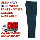 Used Uniform Work Pants Cintas Redkap Unifirst GK