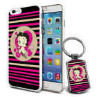 Betty Boop Design Hard Case Cover & Free Keyring For Various Mobiles - 12 $9.46 AUD on eBay