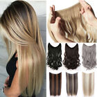 Wire Headband Hair Extensions THICK Real As Human Hair Extensions Half Head TW5