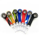 1 Set Tobacco Pipe Glass Water Pipes Herb Pipe Fashion Cool Silicone 7 Colors
