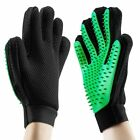 Fashion glove to brush pets cats and dogs removes pet brush pet hair 2 pieces