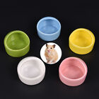 1X Hamster Cute Ceramic Feeding Basin For Pets Pup Dogs Cats Food Bowl 5Color K0