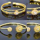 Gold Plated Charm Bangle New Indian Bollywood Jewellery Wedding Jewelry Asian Uk