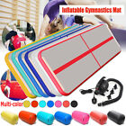 Airtrack Inflatable Air Track Floor Home Gymnastics Tumbling Mat GYM +US Pump