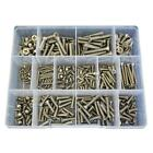 G304 Stainless M3 M4 M5 M6 Countersunk Phillips Machine Screw Assortment Kit #38