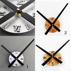 Extra Large Creative DIY Wall Clock Home Decorative Sunburst Clock Battery