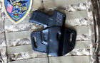 Leather Holster for Sig Sauer P365, OWB, Pancake, Sweat Shield, Made in USA