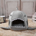 Shark Pet Basket Bed House Cosy Cat Dog Sleeping Kennel Soft Puppy Mat Tent New
