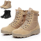 Maelstrom LANDSHIP 8 Military Tactical Work Boots With Zipper Cool Hot Unique