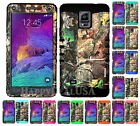 For Samsung Galaxy Note 4 KoolKase Hybrid Silicone Cover Case CAMO MOSSY 73