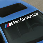 M Performance BMW Decal Windshield Window Vinyl ( Front or Rear Windshields )