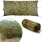 Woodland Shooting Hide Army Camouflage Net Hunting Camp Camo Netting 3 Sizes