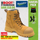 Blundstone 992 'SUPER SAVER'  -  Steel Toe Safety Mens Work Boots . Lace & Zip!