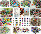 Hot MIX murano Big hole Beads fit DIY European charm Bracelet accessories beaded image