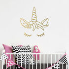 Dreaming Unicorn Wall Sticker - Fantasy Wall Art for Child's Bedroom / Nursery