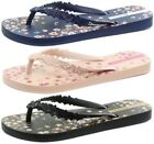 New Ipanema Brasil Fashion Floral Womens Flip Flops ALL SIZES AND COLOURS