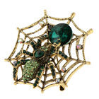 MagiDeal Spider Web Pin Brooch Dress Bags Costume Halloween Fashion Jewelry