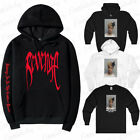 REVENGE KILL HOODIE MEN Orange / Black Sweatshirt XXXTentacion Bad Vibes Forever
