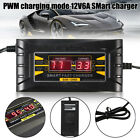 6 volt type a battery - 12V 6A 10A 20A Car Lead Acid Battery Charger Motorcycle Auto Fast Smart LCD Volt