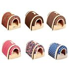 Small Pets Cat Puppy Dog Soft Cushion Washable Kennel Mat Pad Tent Bed House